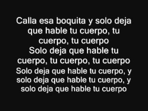 Pitbull .FT Jean Carlos Canela - Tu cuerpo letra lyrics official