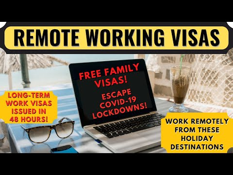 Top 7 Travel Destinations Offering Remote Work Visas   Working Online and Traveling the World