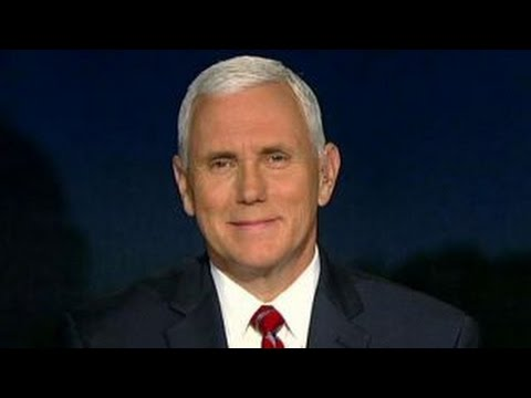 Mike Pence on entertainers