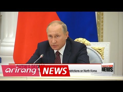 Putin signs decree to enforce UN Security Council resolution on North Korea