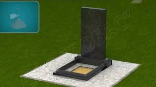 Инструкция установки памятника на могилку, видео инструкция(Видео инструкция установки (монтажа) ритуального памятника на могилку и мощение плиткой места захоронения..., 2012-02-05T15:26:14.000Z)