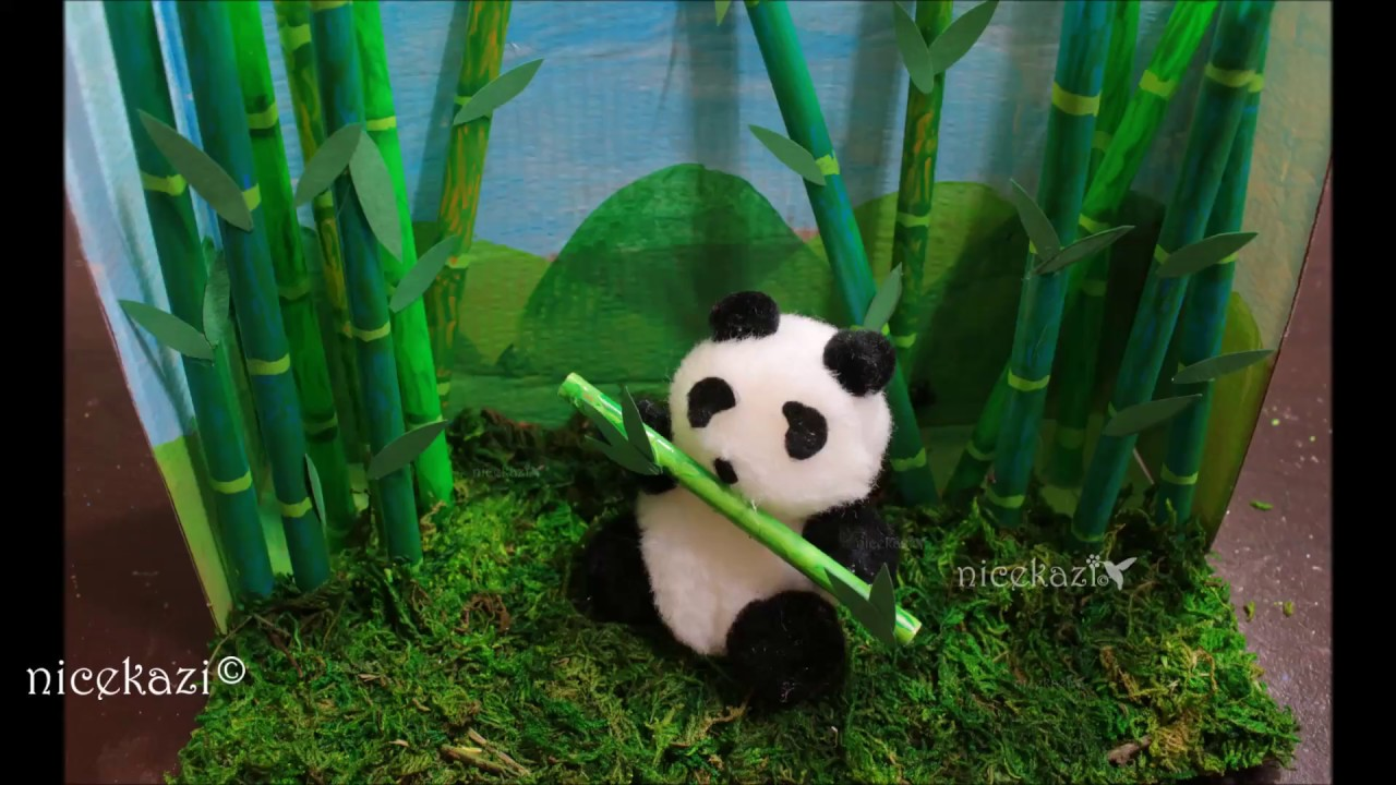 How To Make Kids Summer Craftsdiorama Made With Shoe Boxstraw And