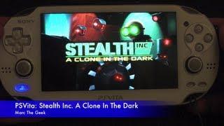 PSVita: Stealth Inc. A Clone In The Dark