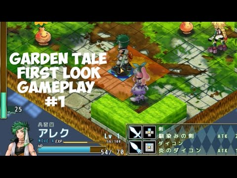 garden tale let s play part 1 isometric tile based japanese rpg first look
