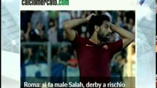 بالفيديو .. #روما يوضح مدى خطورة إصابة #محمد_صلاح