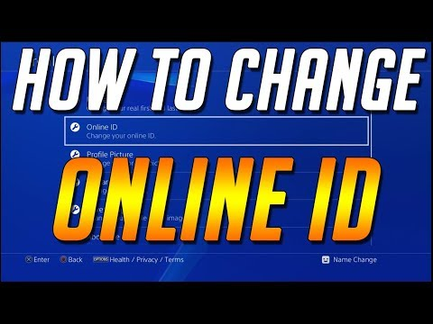 How To Change PlayStation Name / Online ID ★ PS4 TUTORIAL [Feature Preview / BETA - READ DESC]