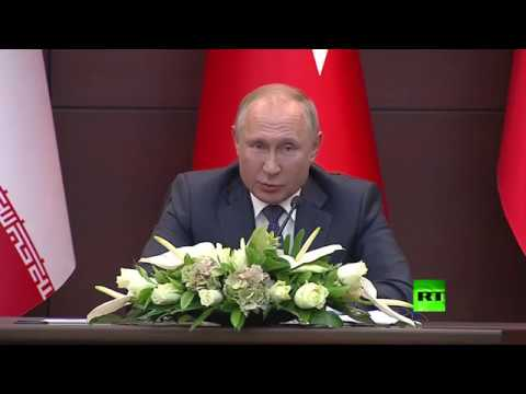 بوتين يستشهد بالقرأن وينصح السعودية بشراء -إس-400-  - نشر قبل 8 دقيقة