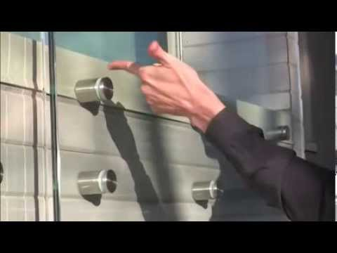 How To Design Frameless Glass Guard Rails Youtube