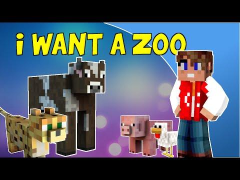 I Want a Zoo (Minecraft parody of Budapest, George Ezra)