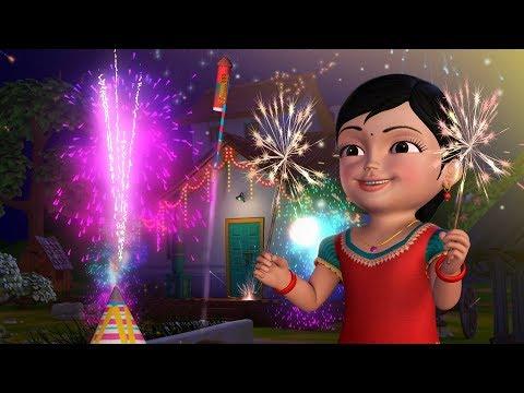Chinnu Deepavali Song | Kannada Rhymes for Children | Infobells
