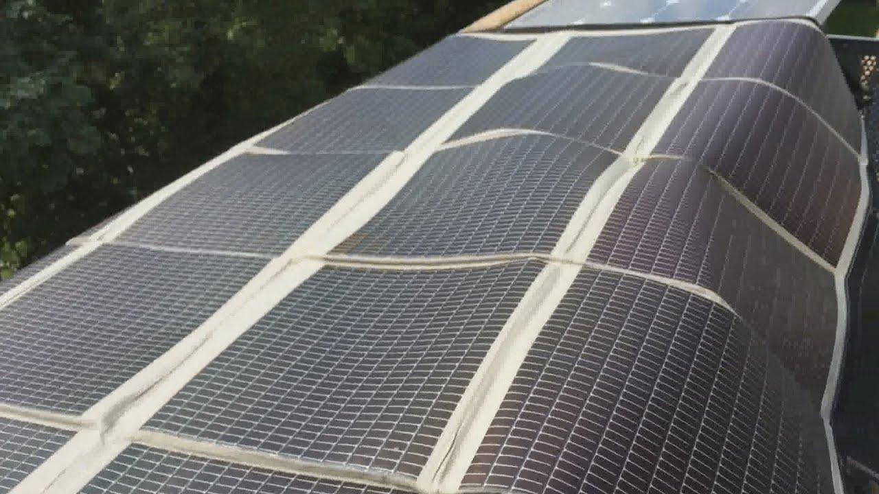 Powerfilm 120 Watt Foltable F16 7200 Solarmodul With Bad