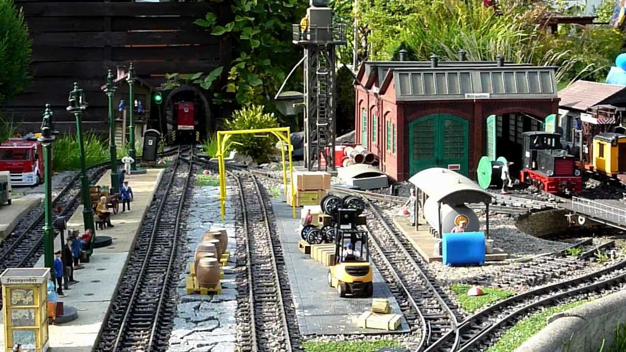 Eisenbahnromantik auf unserer lgb gartenbahn teil