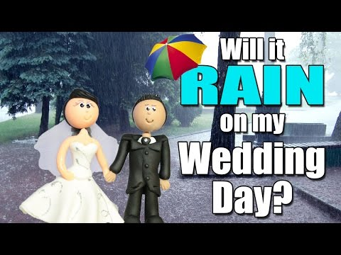 Will it rain on my wedding day?
