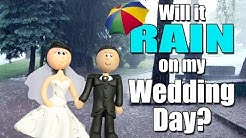 Will it rain on my wedding day?