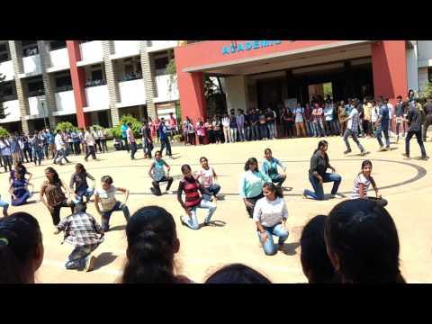 Kannada flashmob in Belagavi