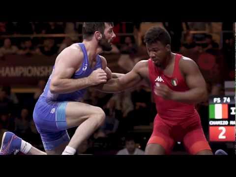 CHAMIZO (ITA) PINS TSABALOV (RUS) - European Championships 2018