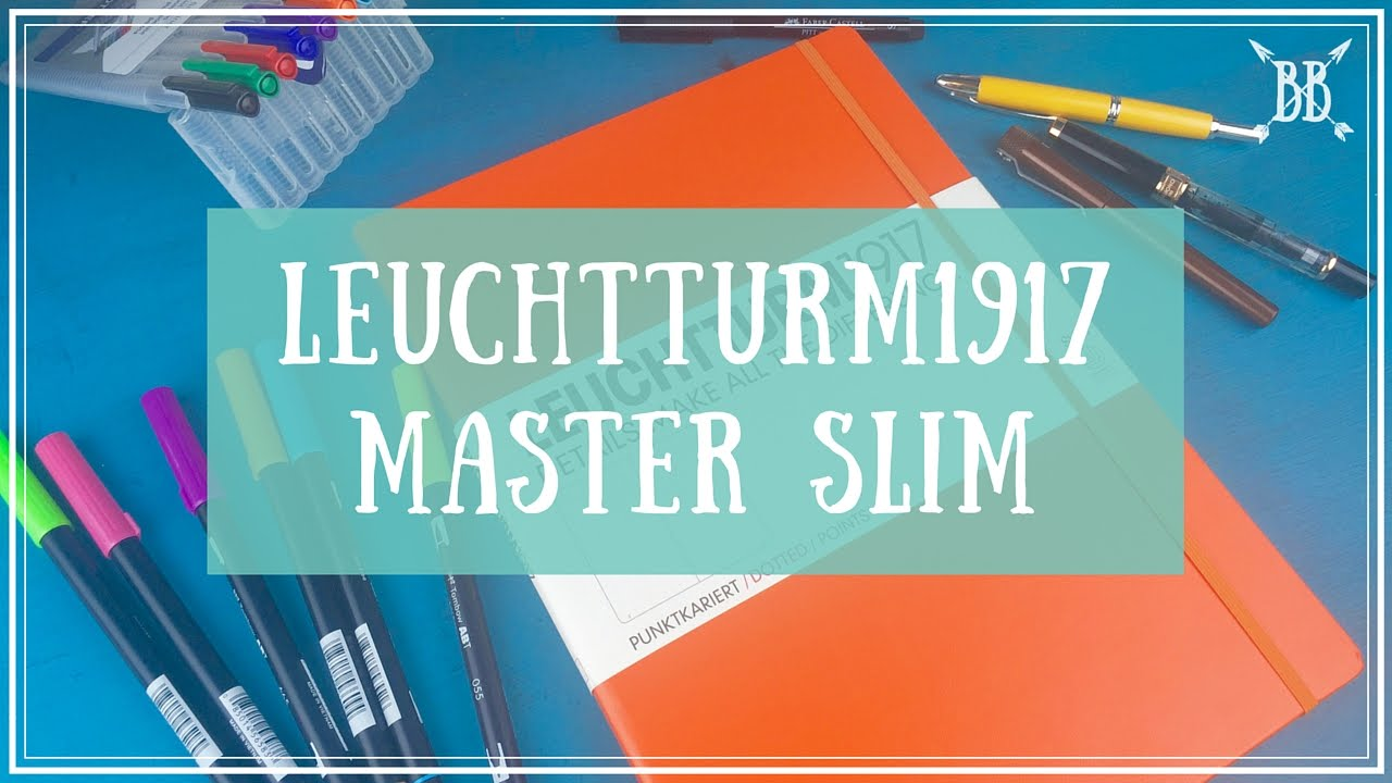 Leuchtturm1917 Master Slim Review