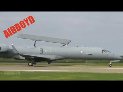 Embraer 145 AEW&C (R-99) Takeoff