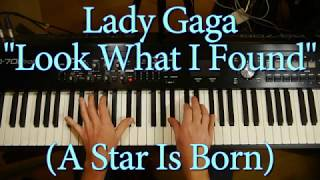 Lady Gaga 'Look What I Found' | Piano accompaniment