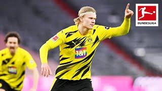 Haaland Scores First Two Goals in Der Klassiker - FC Bayern München vs Borussia Dortmund