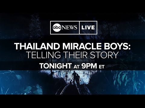 Exclusive Thai cave rescue interview: Boys' soccer team, coaches on harrowing experience | ABC News
