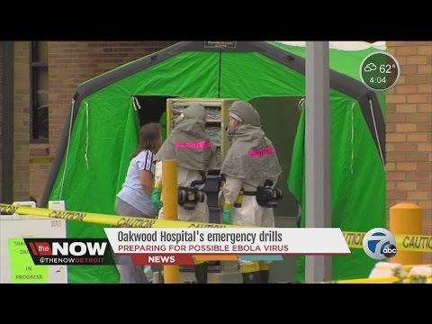 Oakwood Hospital emergency Ebola drills