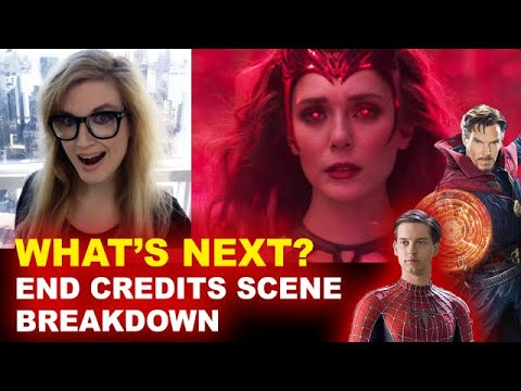 WandaVision Episode 9 Post Credit Scene BREAKDOWN - Scarlet Witch & Twins! - Beyond The