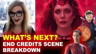 WandaVision Episode 9 Post Credit Scene BREAKDOWN - Scarlet Witch & Twins!