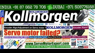 Kollmorgen Repair print pack servo motor not working, encoder Adjustment,Servo Fault Diagnosis
