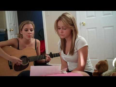 Cassi Thomson & Skyler Day Singing Hallelujah