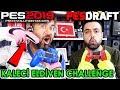 KALECİ ELDİVENLERİ İLE PES OYNAMA CHALLENGE! | PES 2019 PESDRAFT