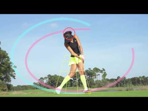 Michelle Wie 300y Drive Fundamentals Slow Motion