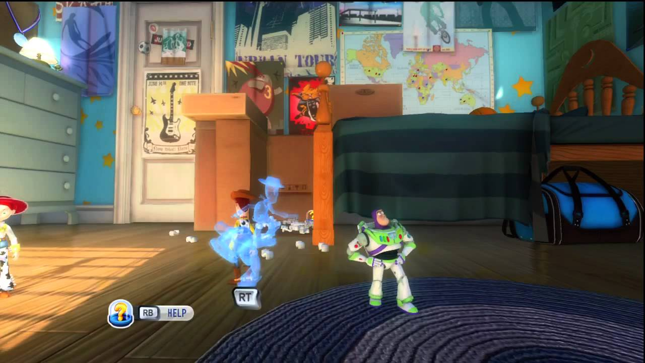 Toy Story 3 Mission 2 Part 1 Andy S Room Youtube