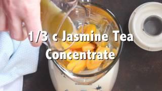 Gambar cover Jasmine Tea Infused Peach Smoothie