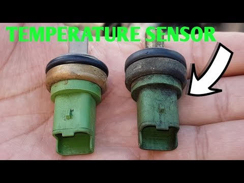 How to replace peugeot partner coolent temperature sensor