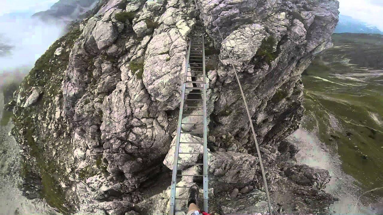 Klettersteig Mindelheimer : Mindelheimer klettersteig ein tages tour youtube
