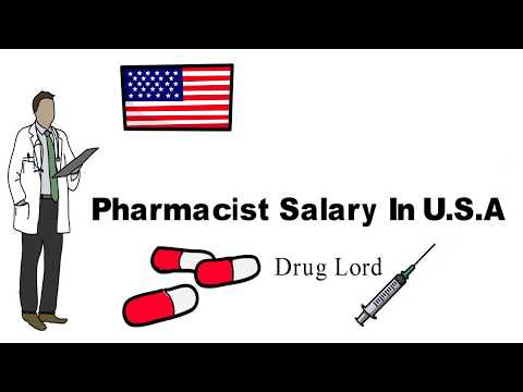 Pharmacists Salary In USA (Latest Survey) Pharmacist Pay In Texas & California| Per Hour Wage