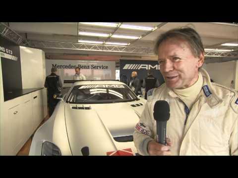 Mercedes Benz SLS AMG GT3 - Hockenheim - Interview with Marc Surer (German)