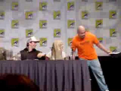 Francis Capra at ComicCon