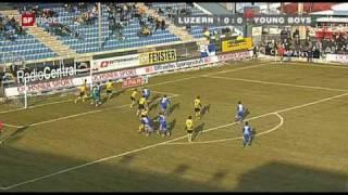 FC Luzern - BSC Young Boys 2:3 15.02.09
