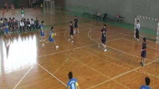20110501福大ハンド男子、春季大会、九州産業大学.wmv