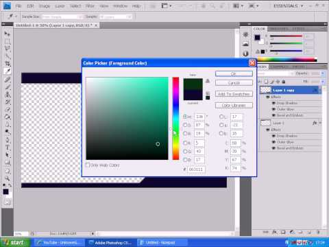 How To Make A Border In Photoshop CS4