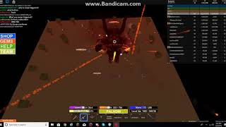 Roblox Field Of Battle: A long demon battle in elite server and I got Demonite and Red diamond