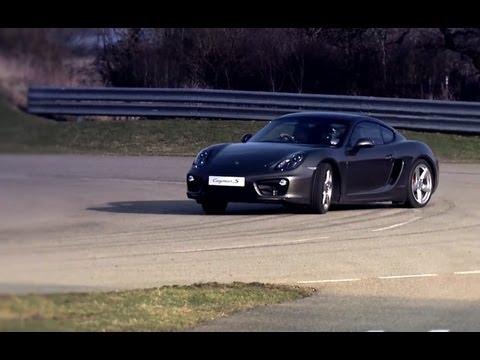 New Porsche Cayman - Advanced Engineering