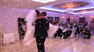 Красивая песня на первый танец  и пушка конфетти 07.11.15 arthall.od.ua
