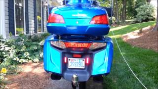 The Wingman Moto Vlogs - My 2012 Honda Goldwing Modifications onTail Lights and Turn Signal