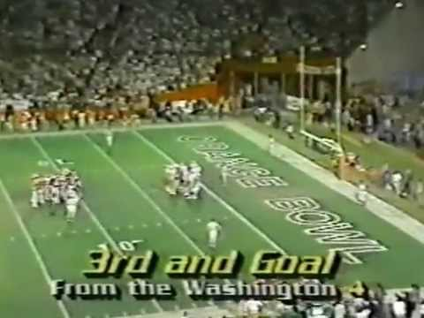 1985 Orange Bowl 1st half