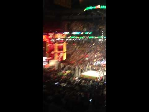 WWE Money in the bank 2014-Seth Rollins Entrance