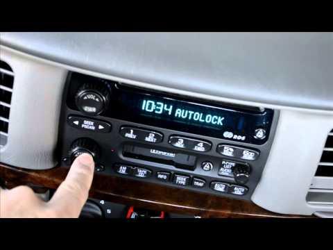 gm radio cal err 2016 ford fiesta wiring diagram reset chevy impala warning lights youtube