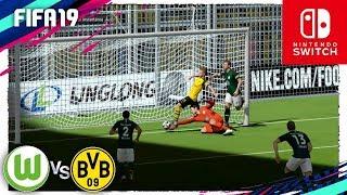 FIFA 19 (Nintendo Switch) Bundesliga - VFL WOLFSBURGO vs BORUSSIA DORMUNT